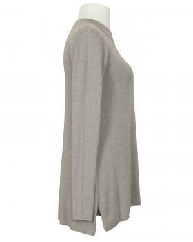 Long Pullover Feinstrick, braun (Bild 2)