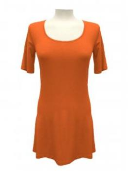Long Shirt A-Form, orange