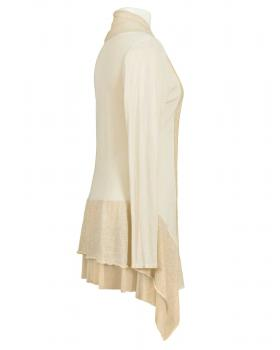 Long Strickjacke, creme (Bild 2)