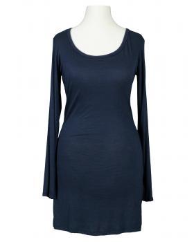 Longshirt, blau