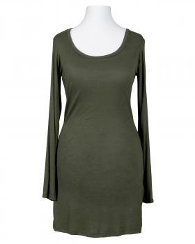 Longshirt, oliv
