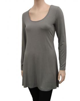 Longshirt A-Form, grau von RESTART