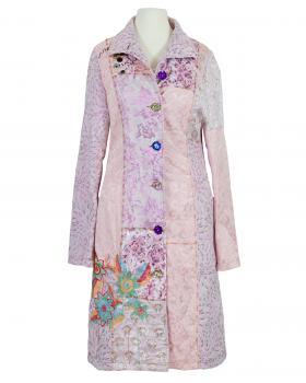 Mantel mit Stickerei, rosa von DY Design