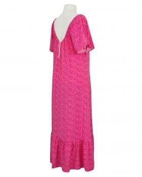 Maxikleid Tüpfen, pink (Bild 2)