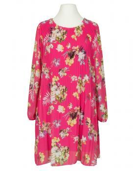 Plissee Tunika, pink von New Collection