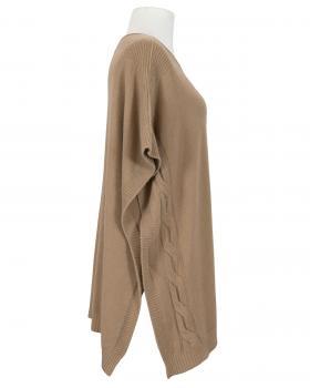 Poncho Feinstrick, camel (Bild 2)