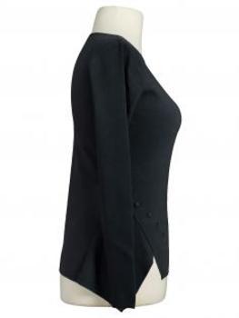 Pullover Feinstrick, schwarz (Bild 2)
