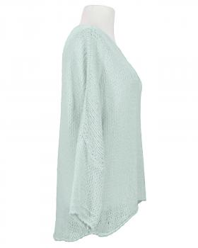 Pullover Grobstrick, eisblau (Bild 2)