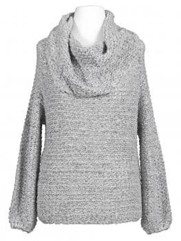 Pullover Grobstrick, grau von H.liesel