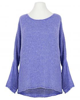 Pullover Grobstrick, lavendelblau von New Collection