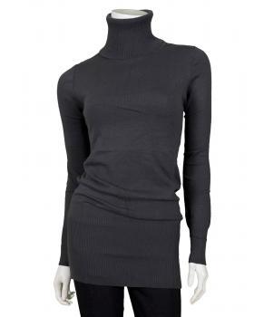 Pullover mit Cashmere, anthrazit von Spaziodonna