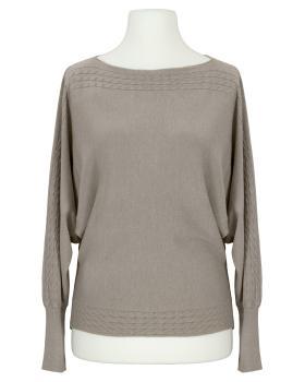 Pullover mit Cashmere, braun von Dolce Piccante