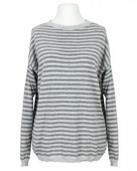 Pullover mit Cashmere, grau von Made in Italy
