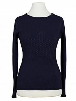 Pullover mit Stern, blau (Bild 1)