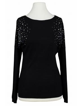 Pullover mit Strass, schwarz von Airy von Airy