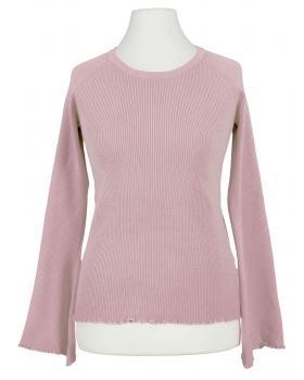 Pullover Rippstrick, rosa (Bild 1)