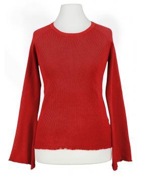 Pullover Rippstrick, rot (Bild 1)