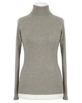 Pullover Rollkragen, hellbraun von Fashion Classic