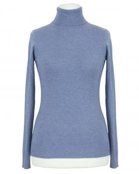 Pullover Rollkragen, jeansblau von Fashion Classic