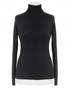 Pullover Rollkragen, schwarz von Fashion Classic