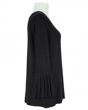 Pullover Trompetenarm, schwarz (Bild 2)