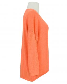 Pullover V-Ausschnitt, orange (Bild 2)