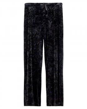 Samthose, schwarz von Moda Italia