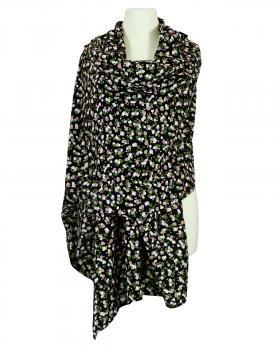 Schultertuch Schal Baumwolle, schwarz von FASHION