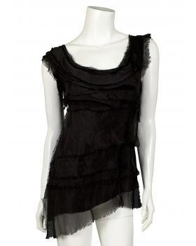 Shirt mit Seide, schwarz (Bild 1)