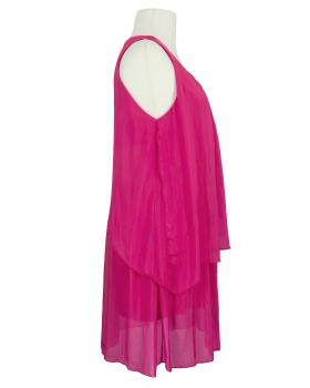 Seidentunika Lagenlook, pink (Bild 2)