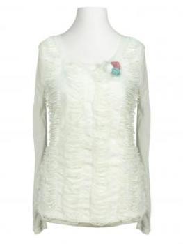Jersey Shirt, ecru von Exquiss's Paris