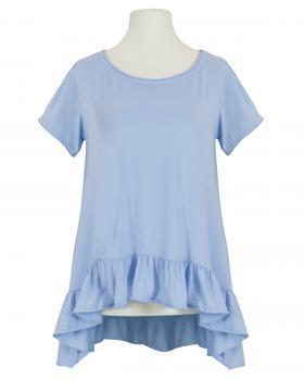 Shirt A-Linie, blau (Bild 1)