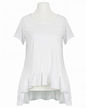 Shirt A-Linie, weiss von Monday Afternoon