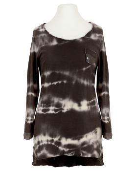 Shirt Batik, braun (Bild 1)