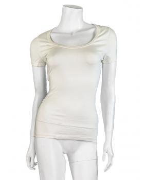 Shirt kurzarm, ecru von Kikeriki von Kikeriki