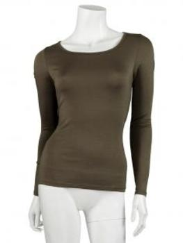 Shirt langarm, braun (Bild 1)