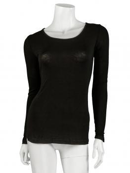 Shirt langarm, schwarz (Bild 1)