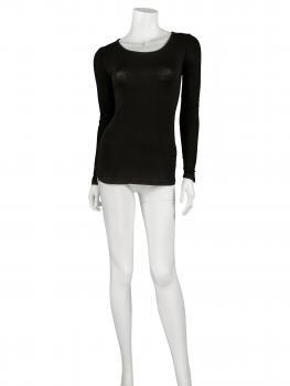 Shirt langarm, schwarz (Bild 2)