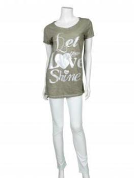 Shirt mit Print, khaki (Bild 2)