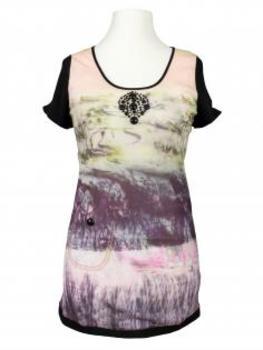 Shirt mit Print, multicolor