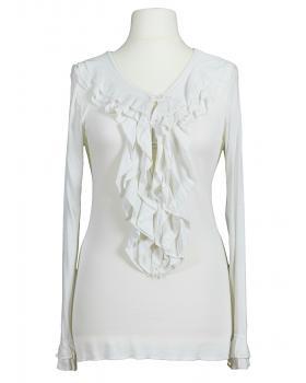 Shirt Rüschen, weiss (Bild 1)