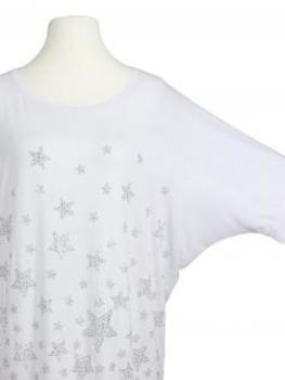 Shirt Sterne, weiss (Bild 2)