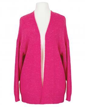 Strickhülle mit Mohair, pink von Made in Italy
