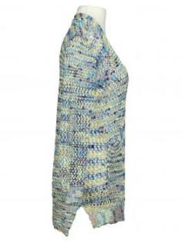 Damen Strickjacke, blau grün