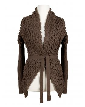 Strickjacke, braun von My Collection