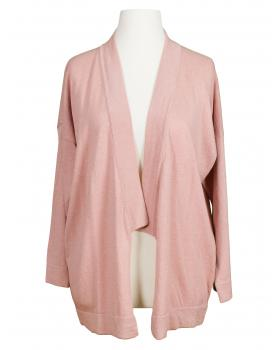 Strickjacke, rosa