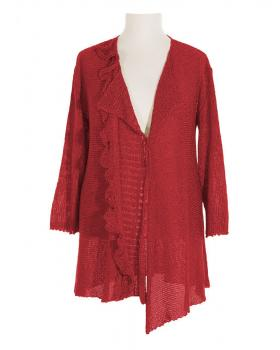 Damen Strickjacke, rot