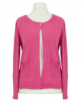 Strickjacke Baumwolle, pink von Selected Touch