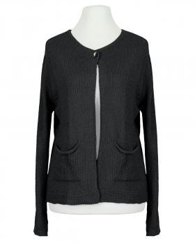 Strickjacke Baumwolle, schwarz von Selected Touch