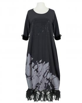 Sweat Kleid Ballonform, anthrazit von Vincenzo